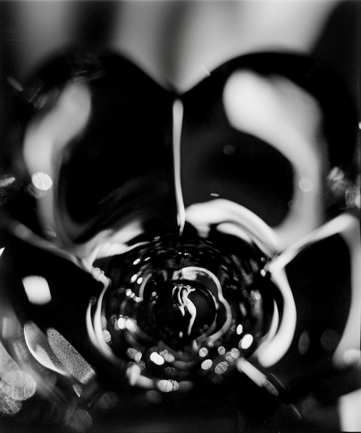 Black and white nudes, fine art photography, nude art prints, bw fine art, refraction, reflection, in glass, female, flower petal glass, art nudes